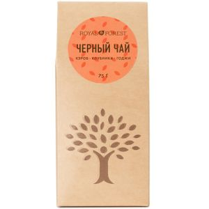 Черный чай (кэроб, клубника, годжи) (75 г)