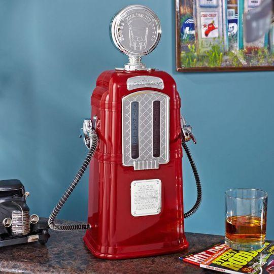 Диспенсер для напитков Заправка Ретро (Красный)