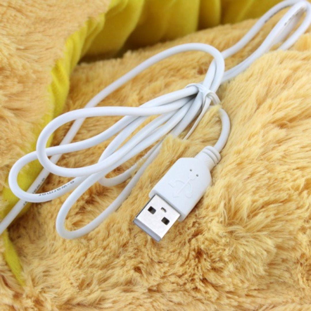 Тапок с подогревом от USB Обезьянка