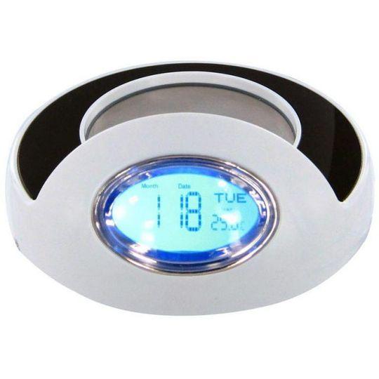 USB Подогреватель для чашки с хабом и часами