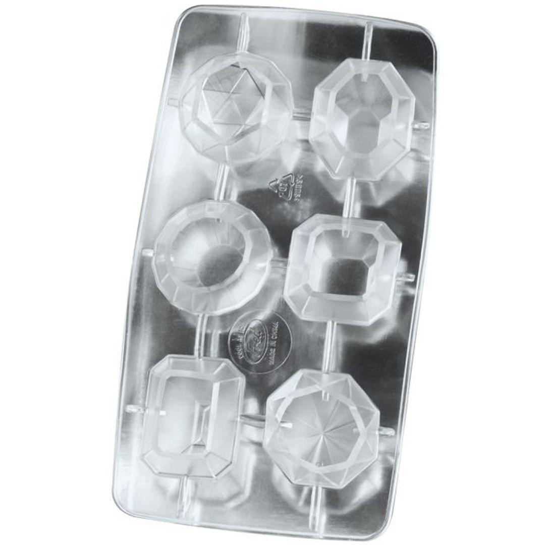 Форма для льда Алмазы (Серебристая)