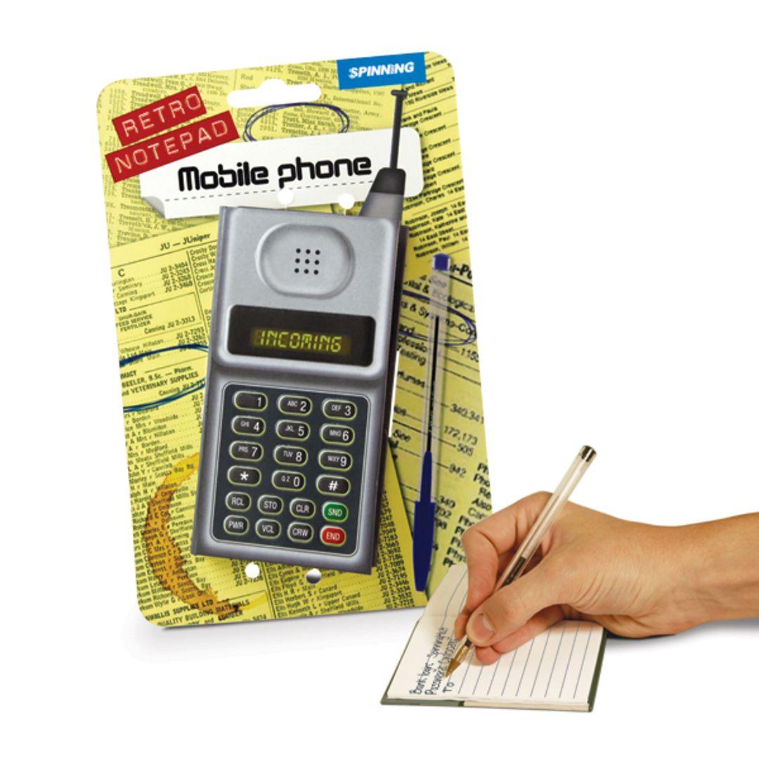 Блокнот Телефон С упаковкой