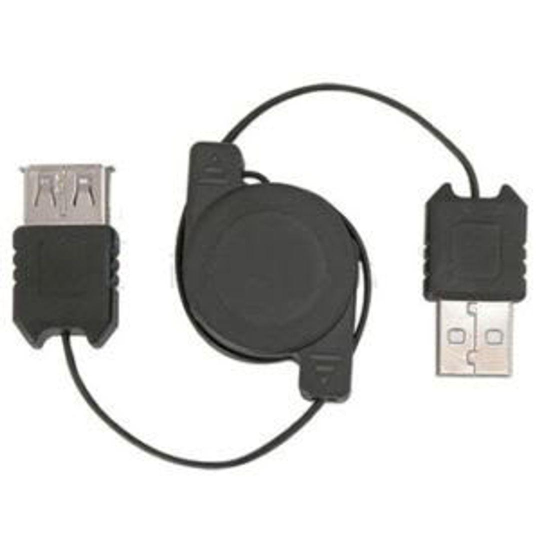 USB Удлинитель-рулетка 70 см