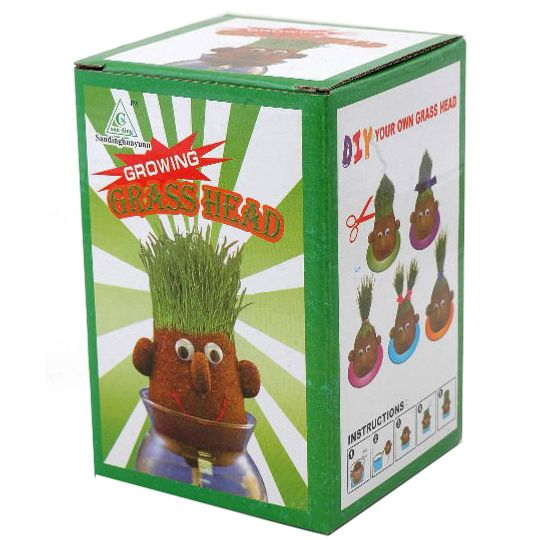 Травяная голова Grass Head Упаковка