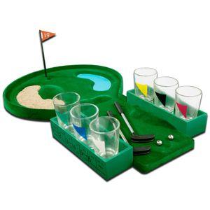 Алкоигра Пьяный гольф (со стопками)