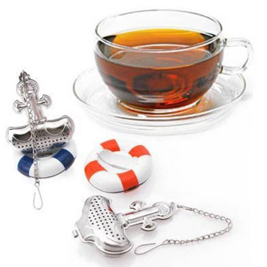 Заварник для чая Якорь со спасательным кругом