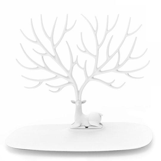 Подставка для украшений Олень (Белый)