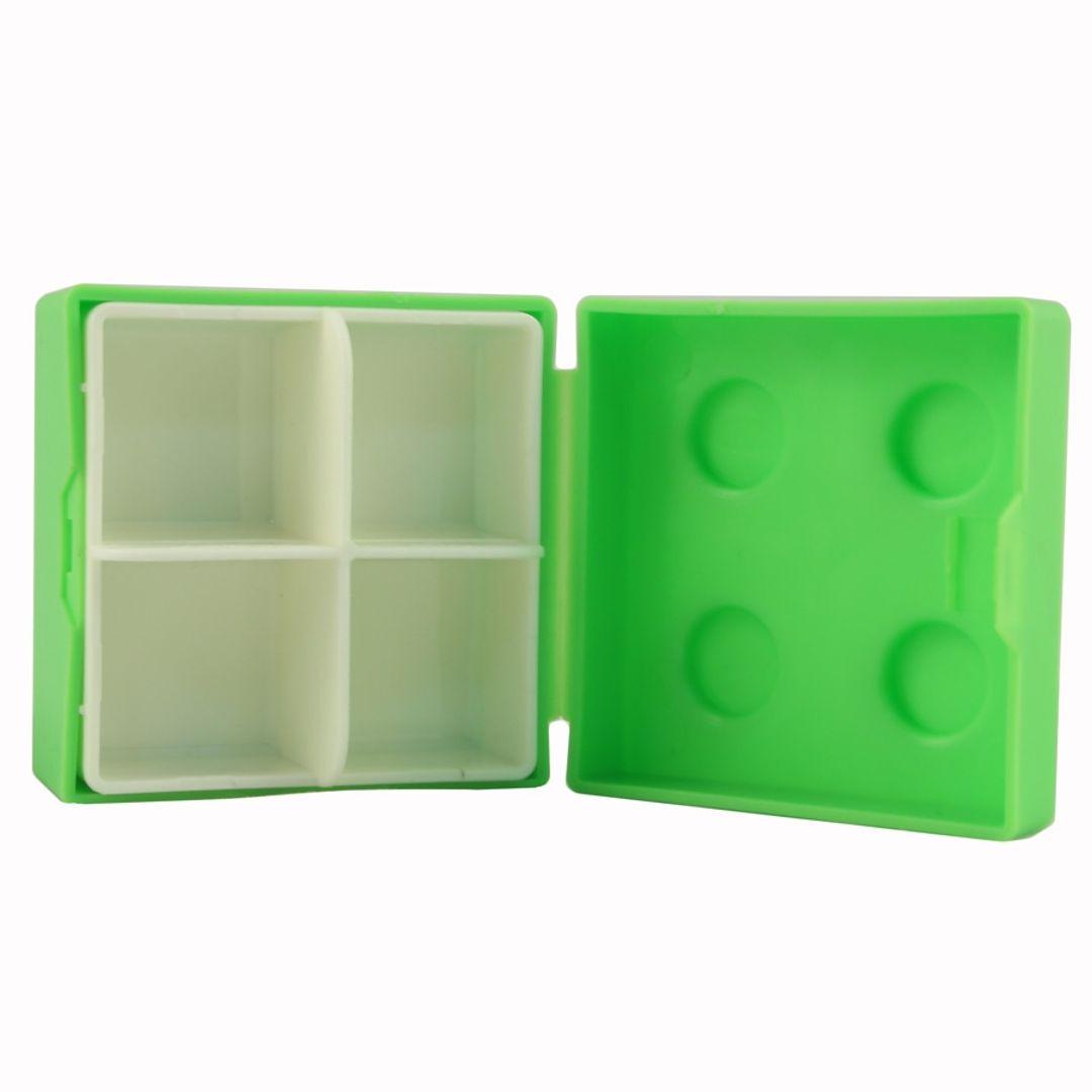 Таблетница Лего (Зеленая) Внутренний контейнер