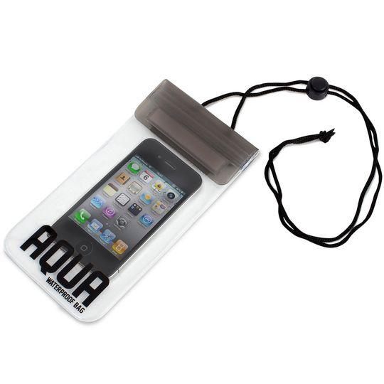 Водонепроницаемый чехол для телефонов Aqua (Черный)