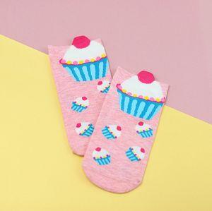 Носки Пирожное (розовый)