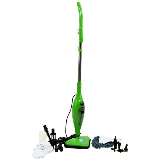Паровая швабра H2O MOP X12 (Зеленый)