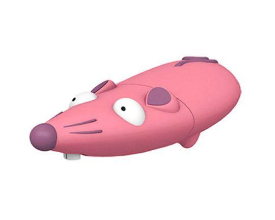 Флешка Мышь Розовая 2 Гб