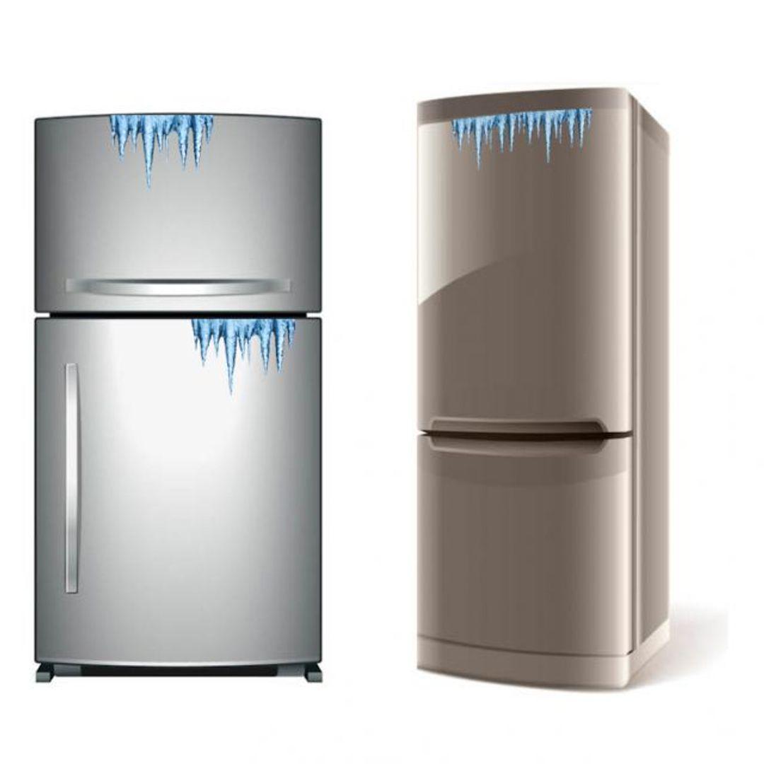 Магнитные сосульки на холодильник