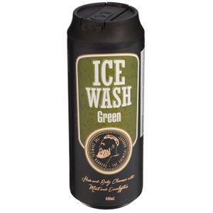 Освежающий гель для душа с мятой и эвкалиптом Ice Wash Green
