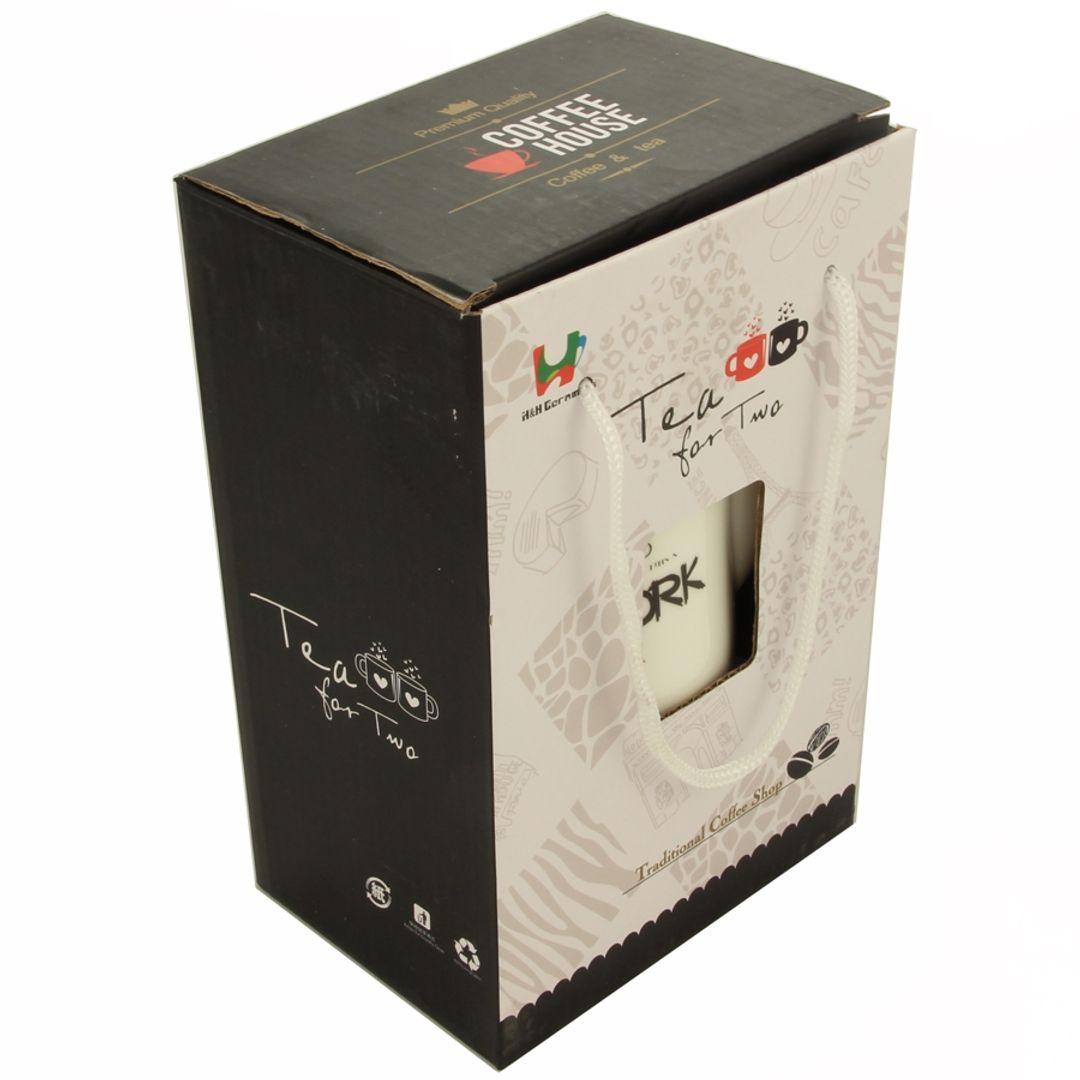 Чайный набор Париж Окошко в упаковке