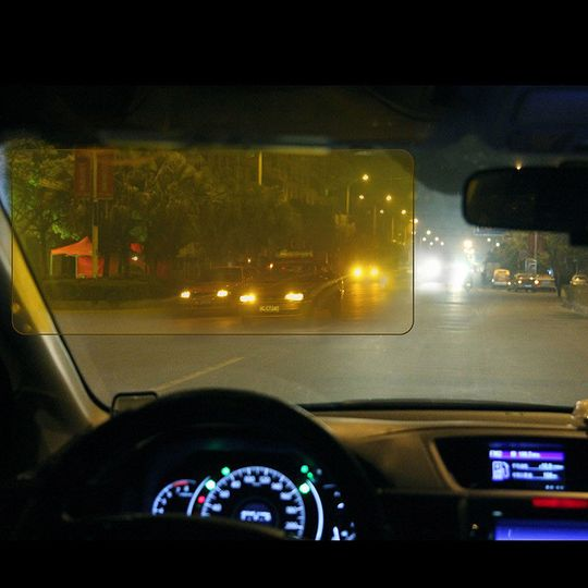 Автомобильный козырек Антибликовый фильтр
