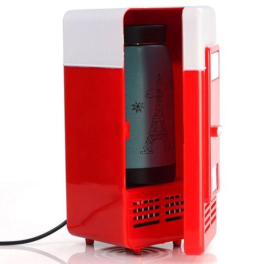 USB Холодильник с функцией подогрева