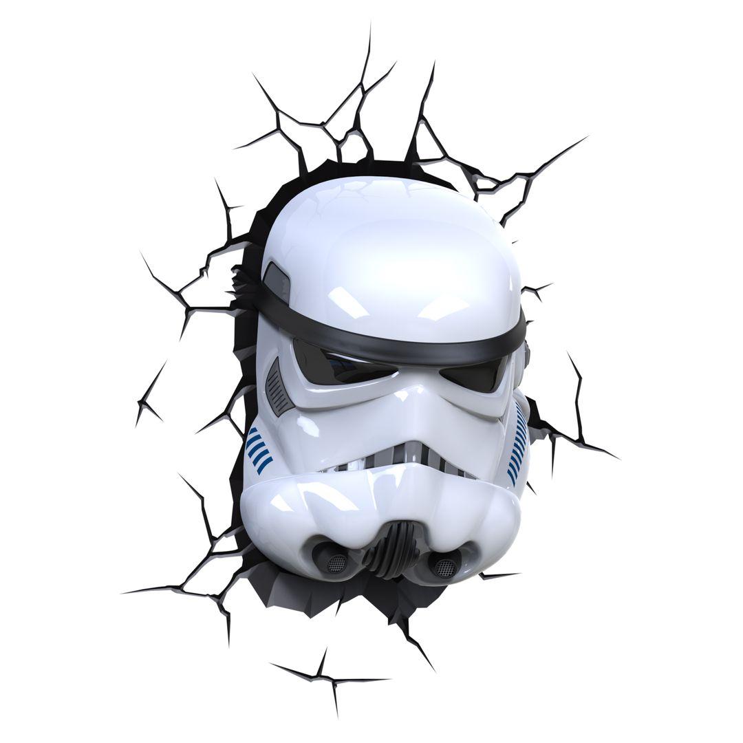 Пробивной 3D светильник Star Wars Stormtrooper