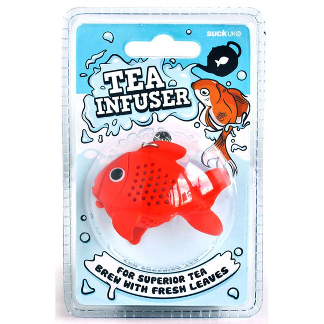 Заварник для чая Золотая рыбка