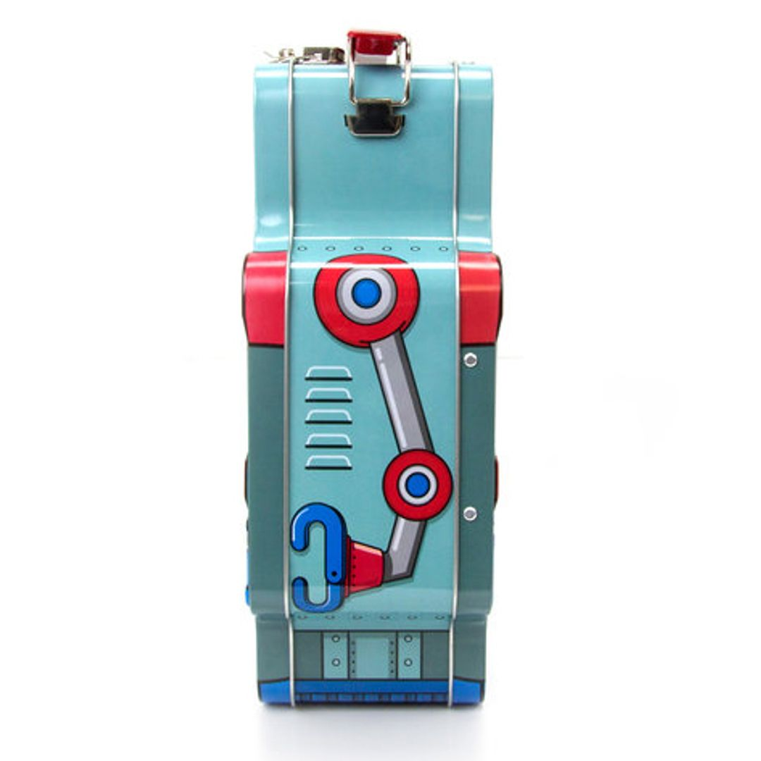 Ланч-бокс Робот Robot Рисунок сбоку