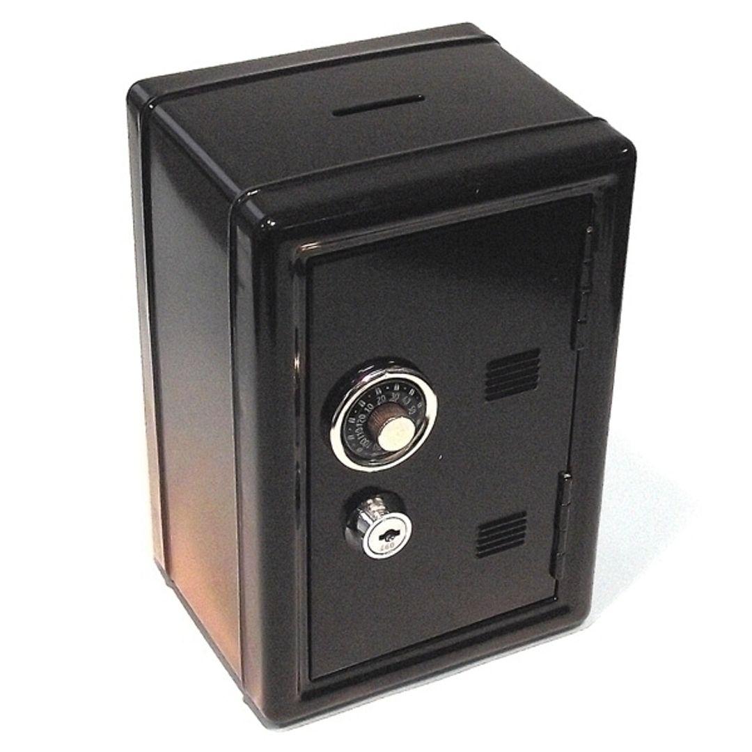 Копилка Металлический сейф (Черный)