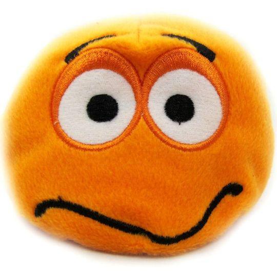 Игрушка Смайлик оранжевый