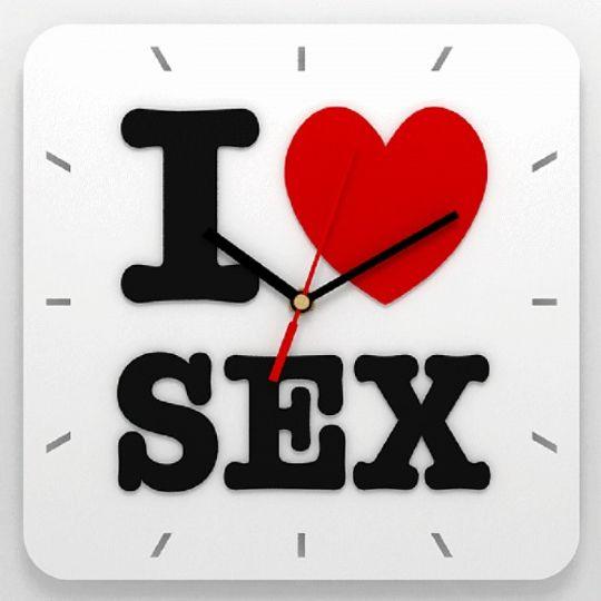 Часы I Love Sex