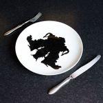 Набор тарелок Ужин С Роршахом