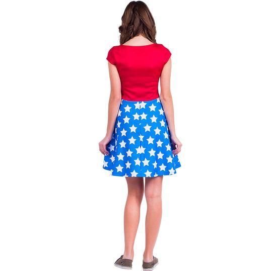 Платье Wonder Woman (Фонарик) Вид сзади