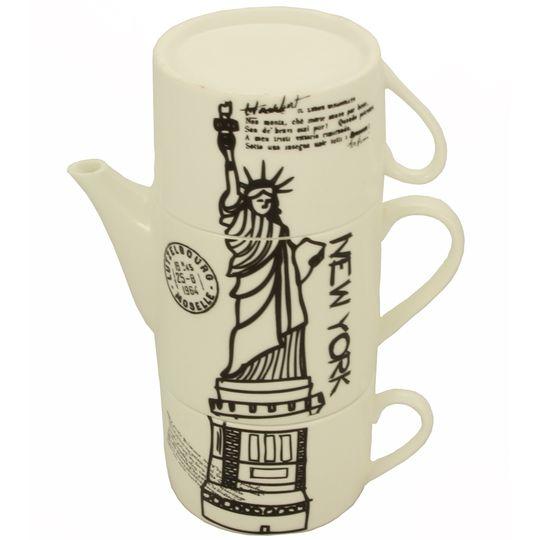 Чайный набор Нью-Йорк