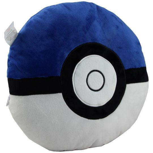 Подушка Покебол (Синий)