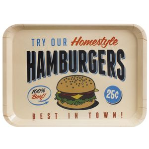 Поднос Best Hamburgers In Town