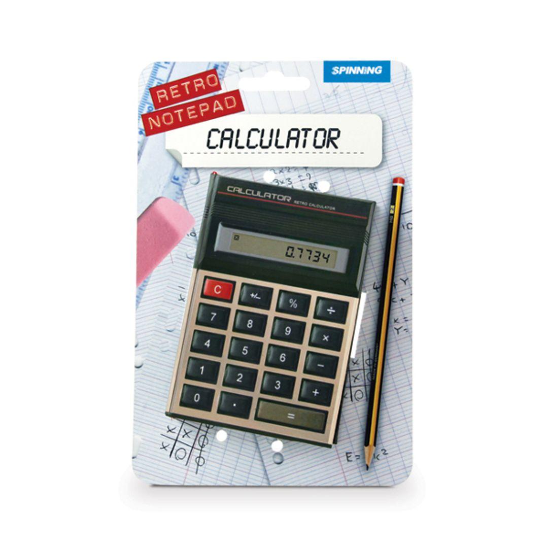 Блокнот Калькулятор В упаковке