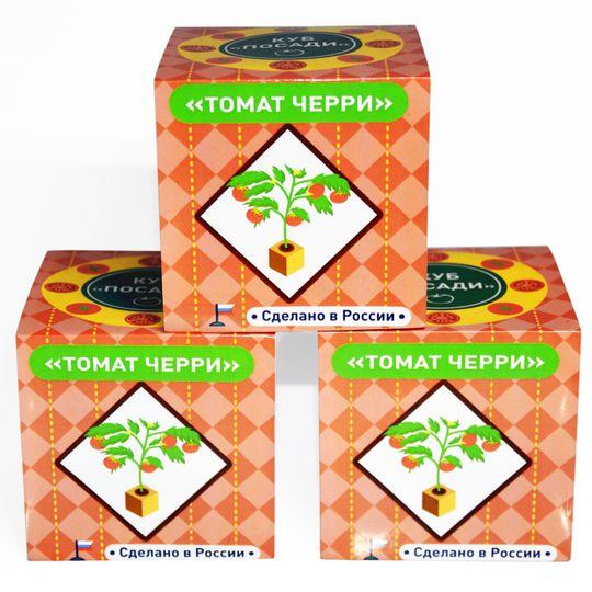 Набор для выращивания Томат Черри Инструкция-упаковка