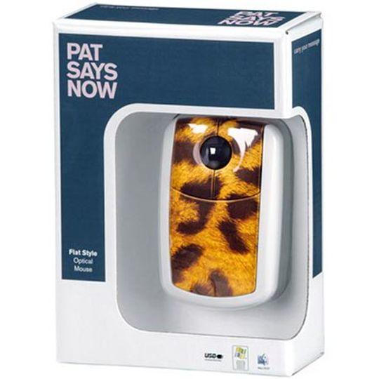 Мышь Pat Says Now Leopard