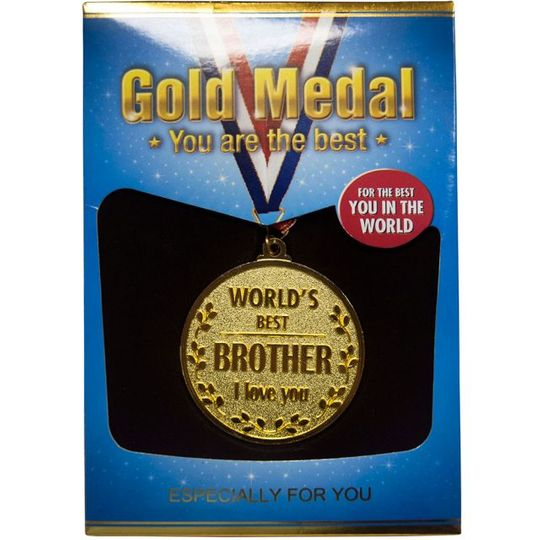 Медаль Лучшему Брату World's Best Brother