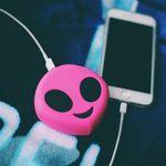 Внешний аккумулятор Power Bank Emoji Инопланетянин