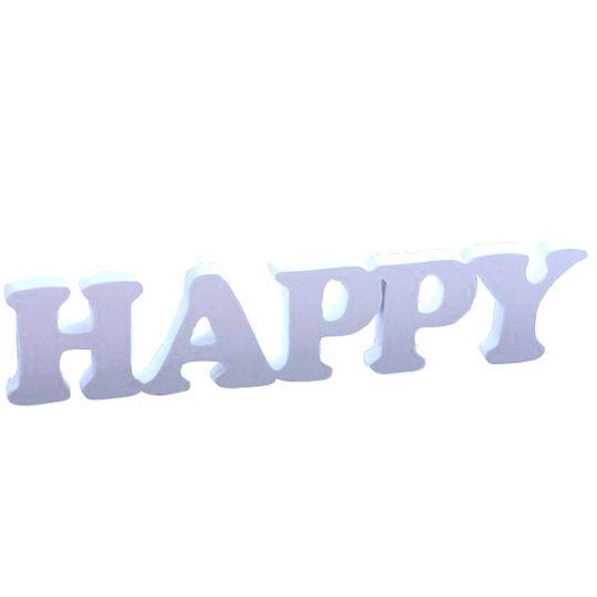 Декоративное слово Happy
