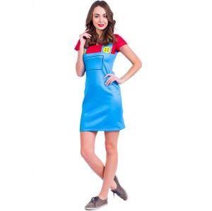 Платье Super Mario