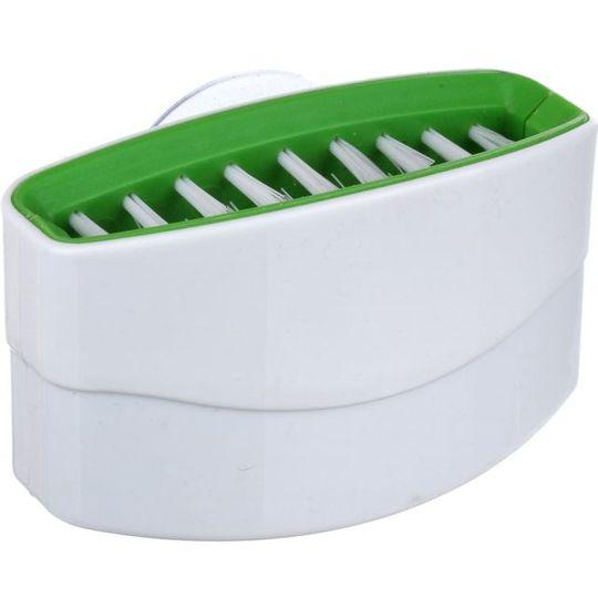 Щетка для столовых приборов Cutlery Clean'R (Белый с зеленым)