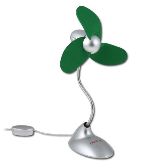 USB Вентилятор Зеленый