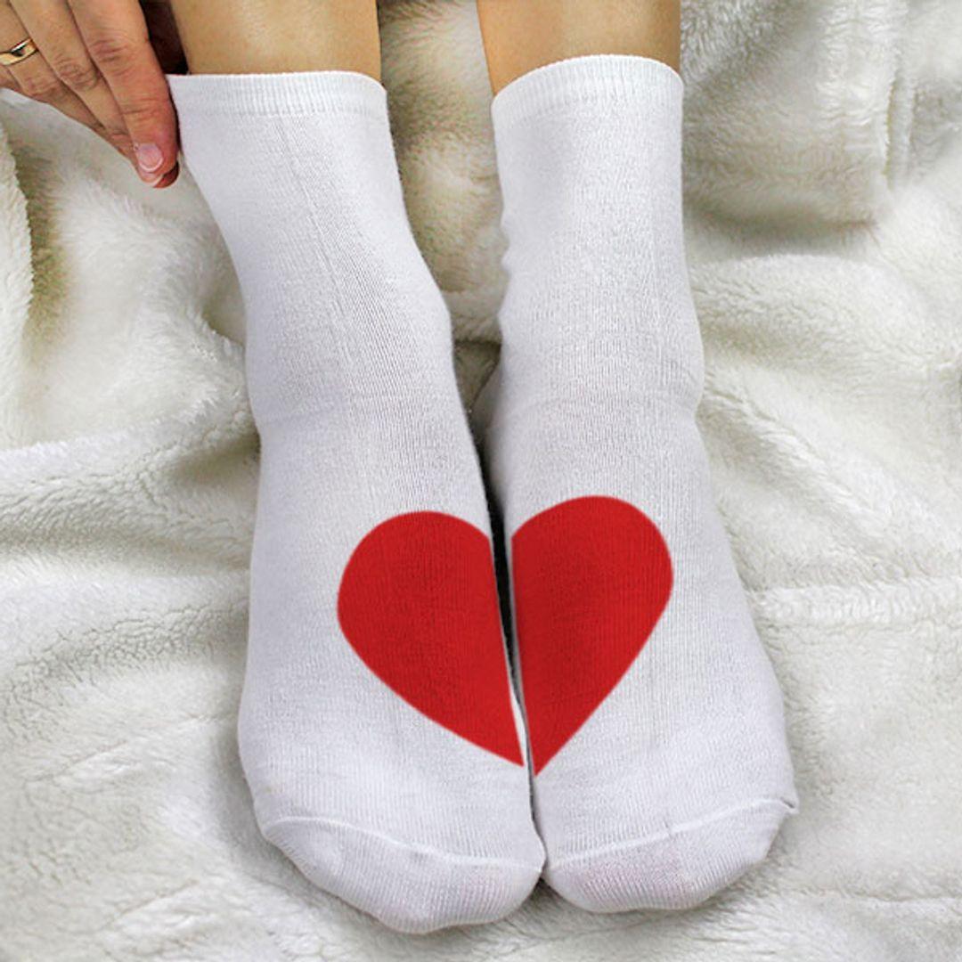 Носки женские Сердце