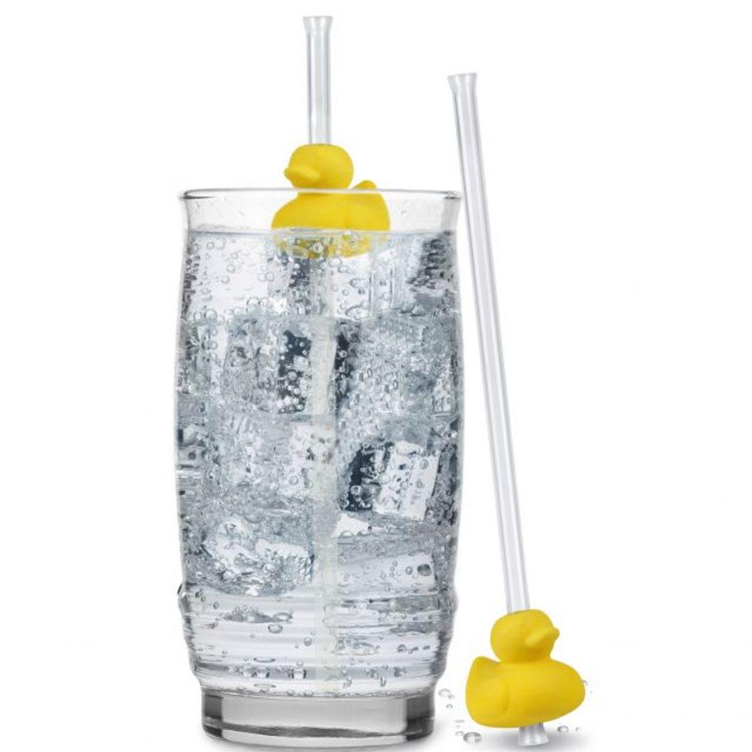 Трубочки для коктейля Уточки Duck Duck Drink
