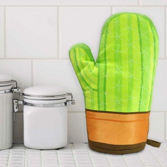 Варежка-прихватка Кактус Cool Cactus