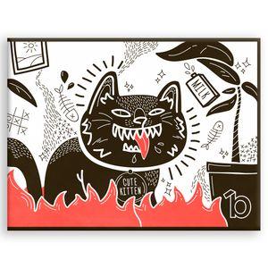 Кошелек Bumaga Black Meow