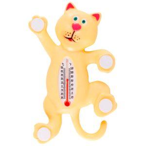 Термометр оконный на присоске Кот