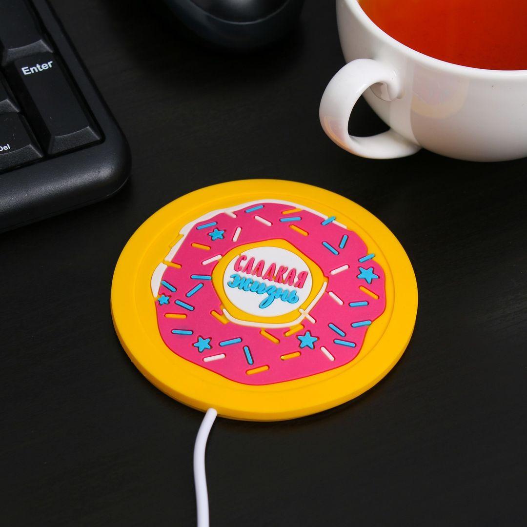 USB Подогреватель для чашки Пончик