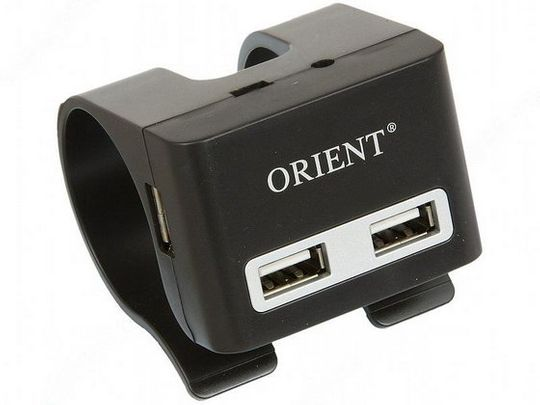 USB Хаб с крепежом за край стола