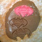 Форма для печенья Batman vs Superman