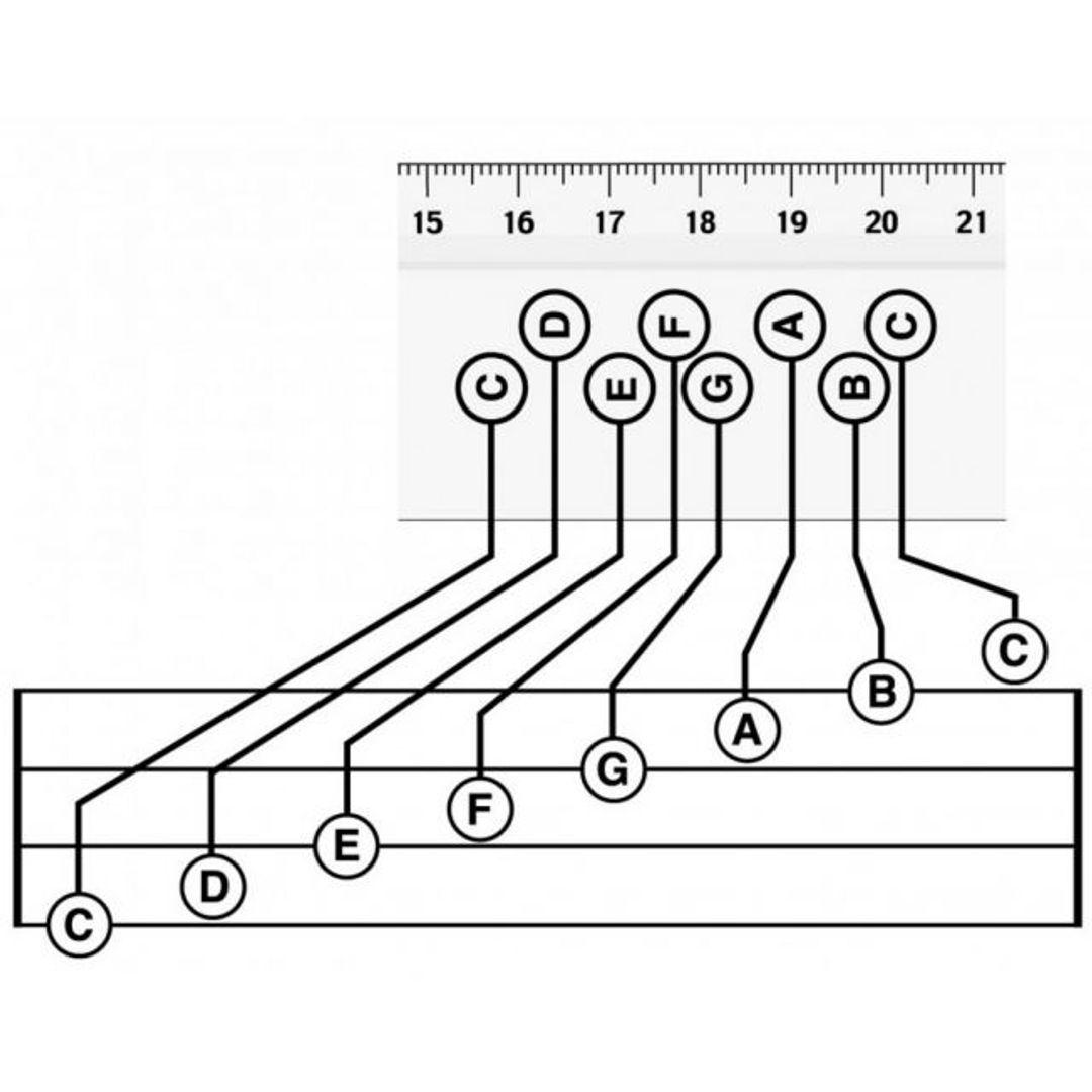 Музыкальная линейка Musical Ruler